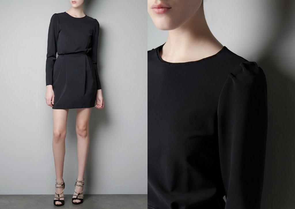 Colaj little black dress