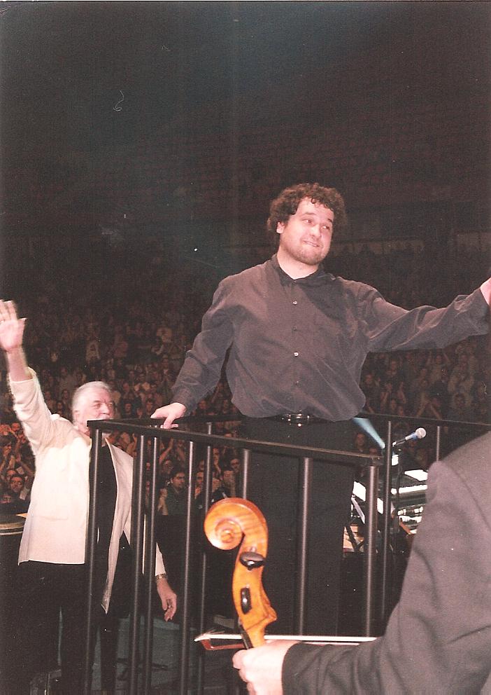 Paul Mann-Jon onstage