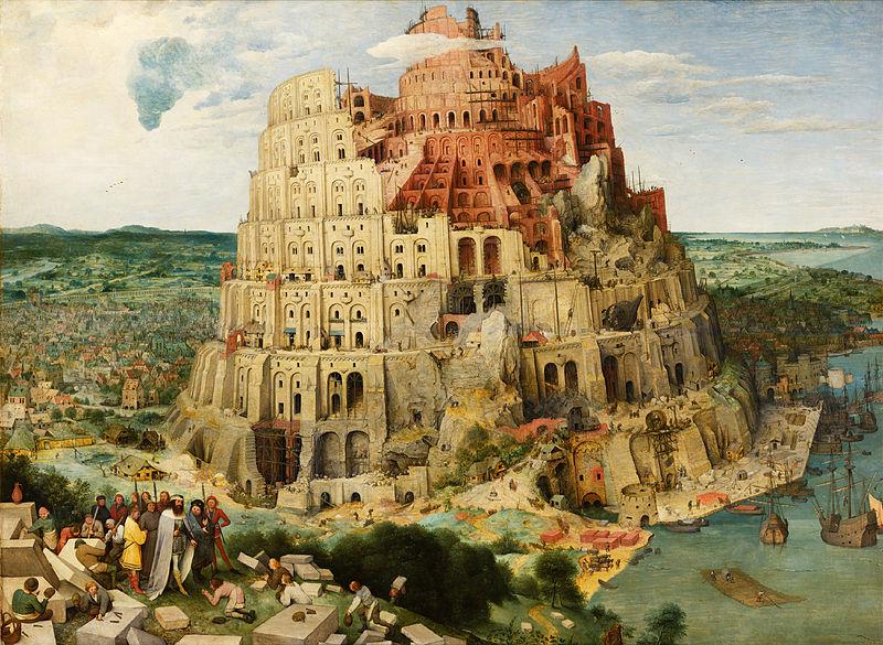 Pieter Bruegel cel Bătrân, Turnul Babel, 1563