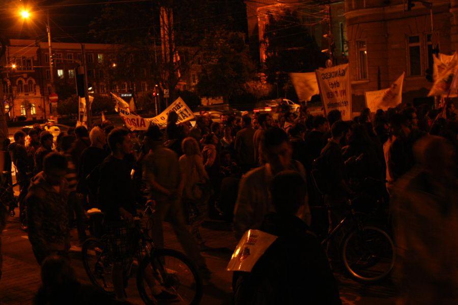 Protest Cluj-Napoca - 6 septembrie 2013
