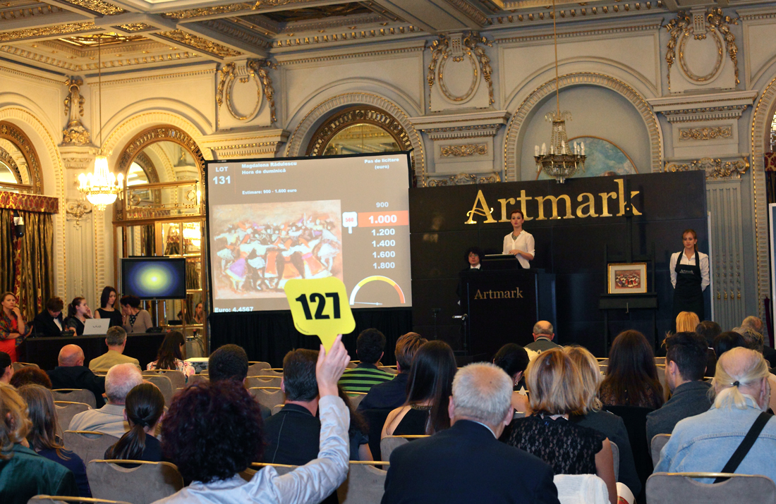 Rezultatele licitatiei Artmark 22 sept.