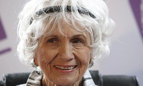 Nobel literature prize winner Alice Munro