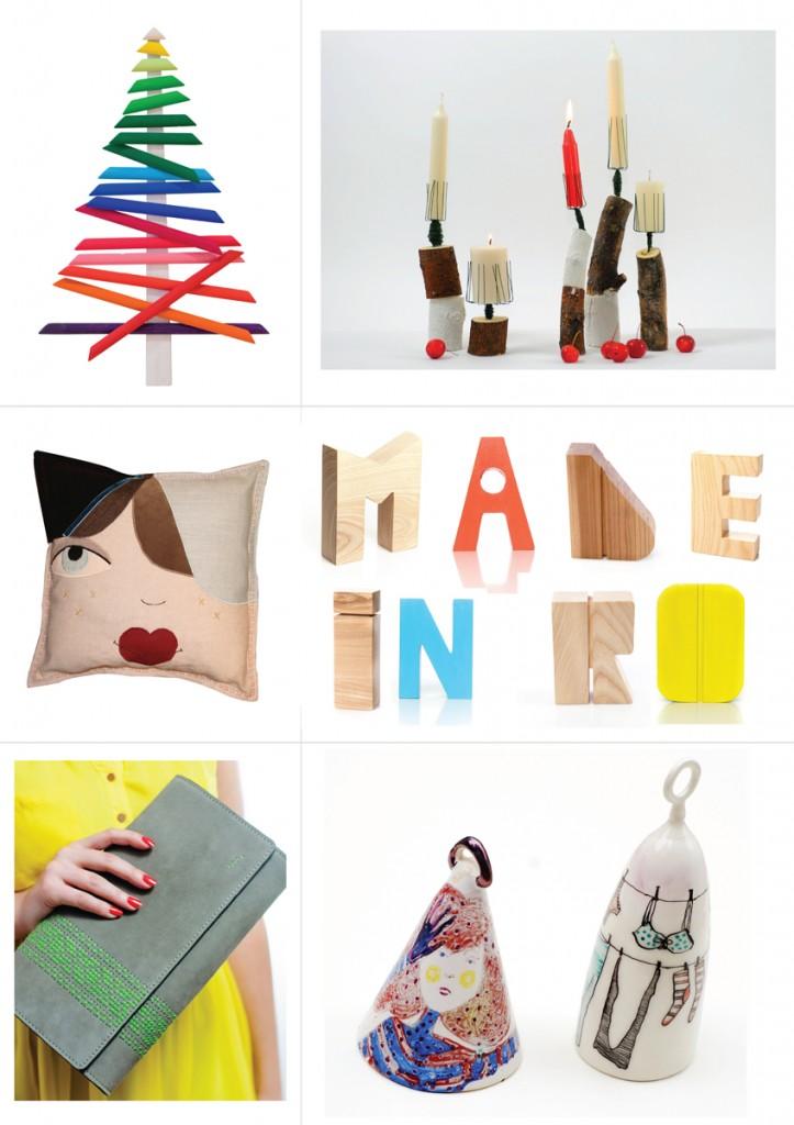 Colaj foto obiecte Made in RO