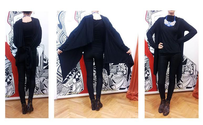 blazer negru 7