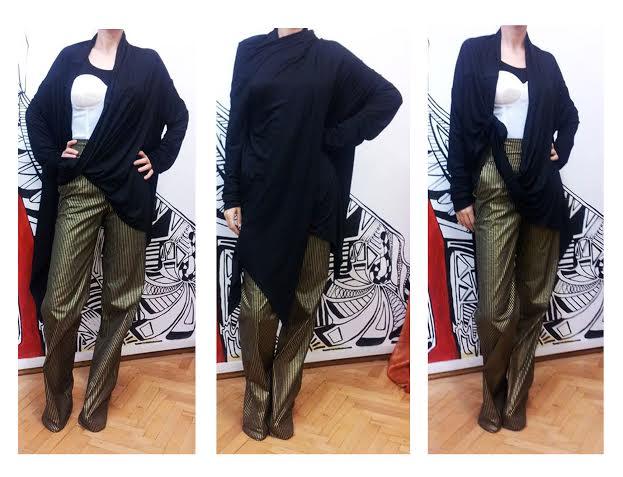 blazer negru 8