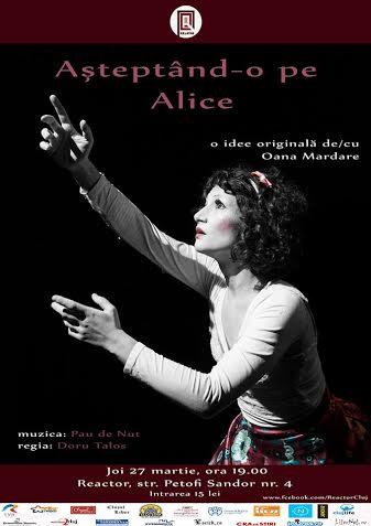 asteptand o pe Alice