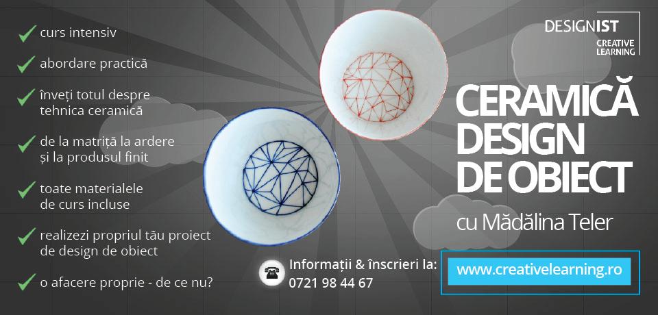 curs ceramica design de obiect