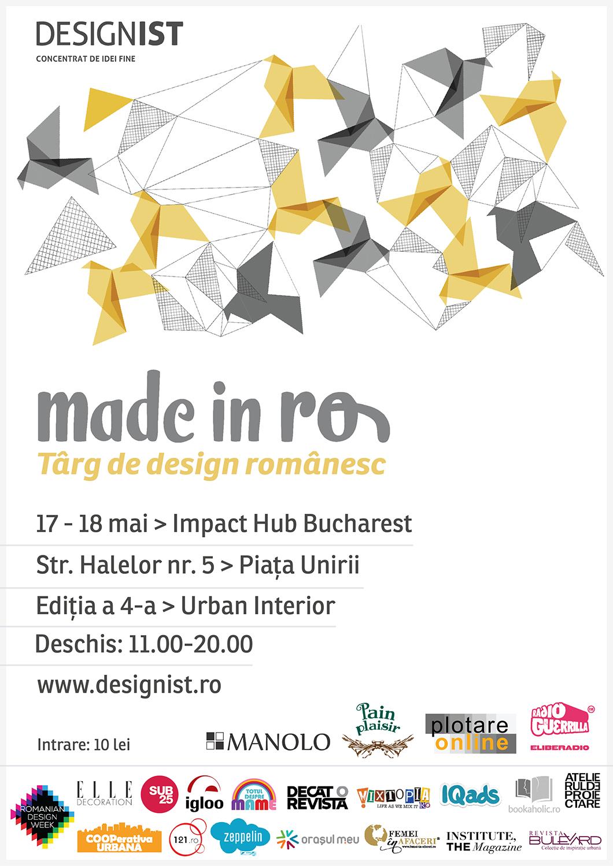 Made in RO Targ de design romanesc editia 4 - vizual
