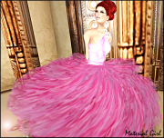 MATERIAL GIRL Peony WIDE
