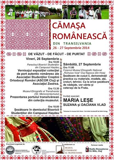 camasa traditionala transilvania
