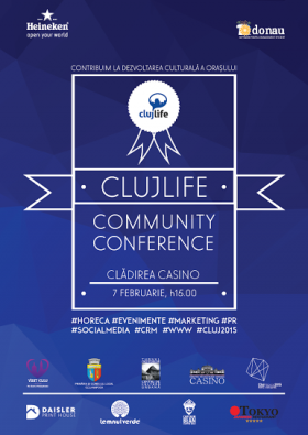 cluj community conference