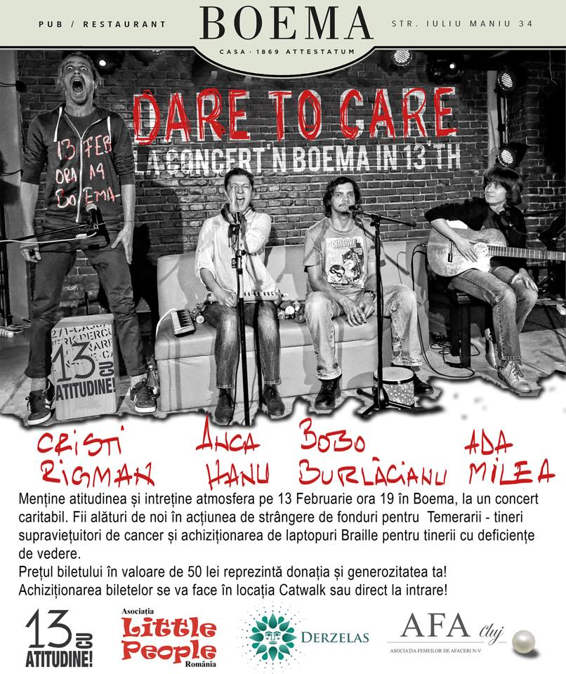 dare to care 13 feb