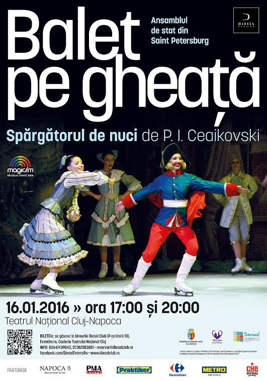 balet pe gheata cluj