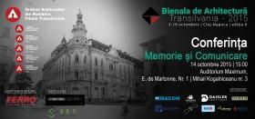 Invitatie conferinta Memorie si Comunicare