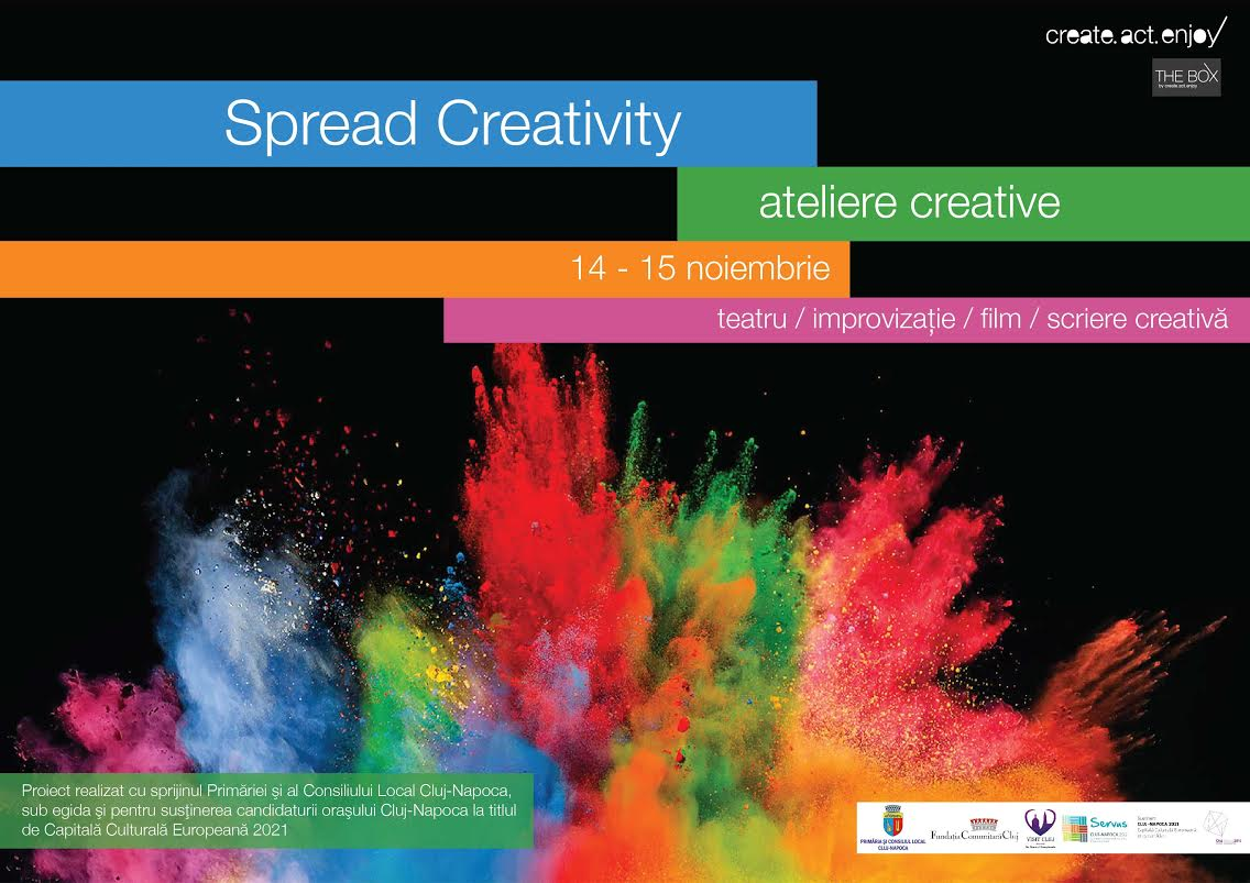 spread creativity