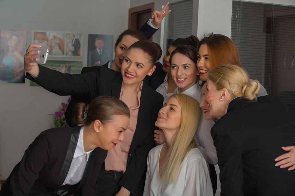 selfie Vreau sa fiu Stewardesa