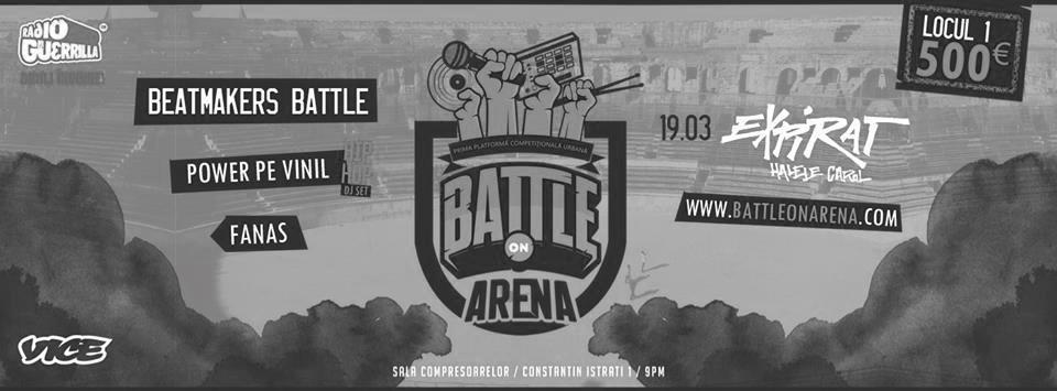 Battle On Arena Beatmakers Battle / Expirat Halele Carol / 19.03