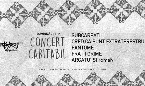 concert caritabil subcarpati