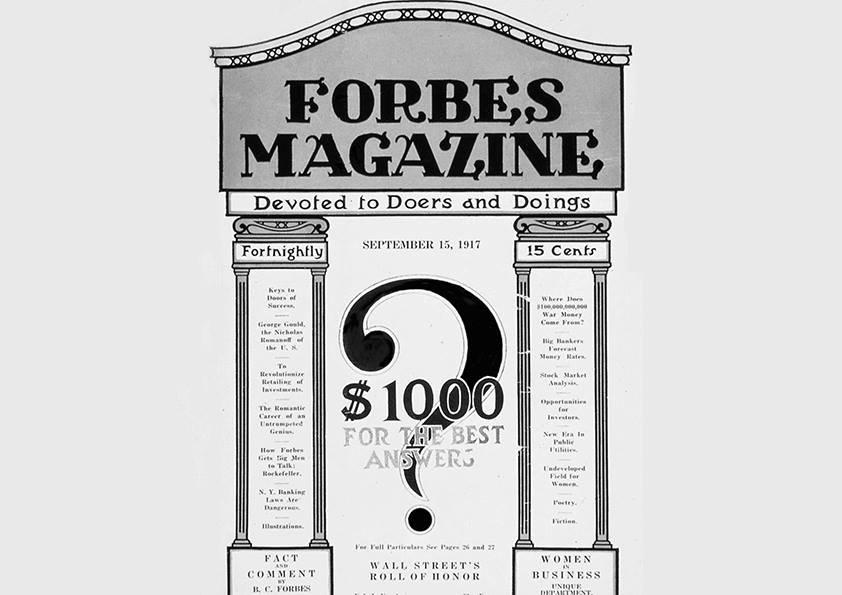 Forbes Heritage & Forbes Vision:  100 de ani de tradiție, 100 de ani de viziune, în presa de business și lifestyle