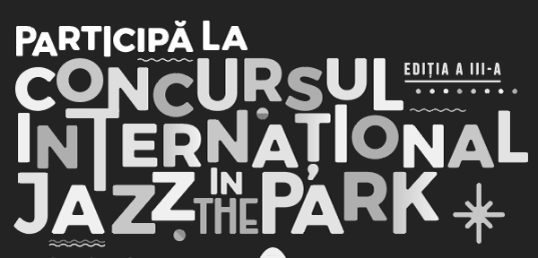 Concursul International Jazz in the Park 2017