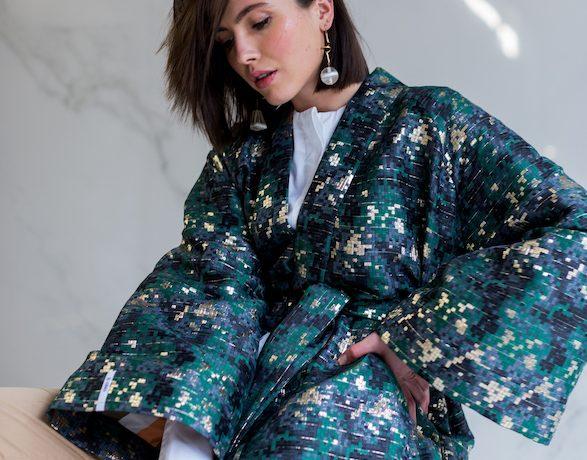 KATIA Silk Brocade Kimono 300Euro