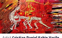 Invitatie vernisaj_Qreator_25 octombrie_Pictor Cristian Daniel Sabin Vasile_