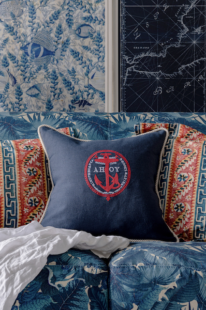 AHOY! embroidered linen cushion LC40103_1 copy