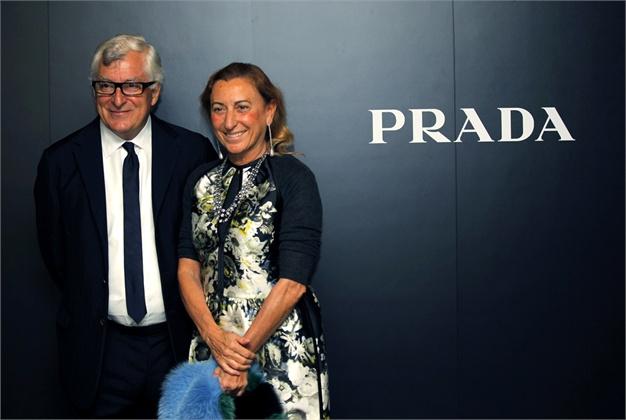 Patrizio Bertelle Miuccia Prada - 2011