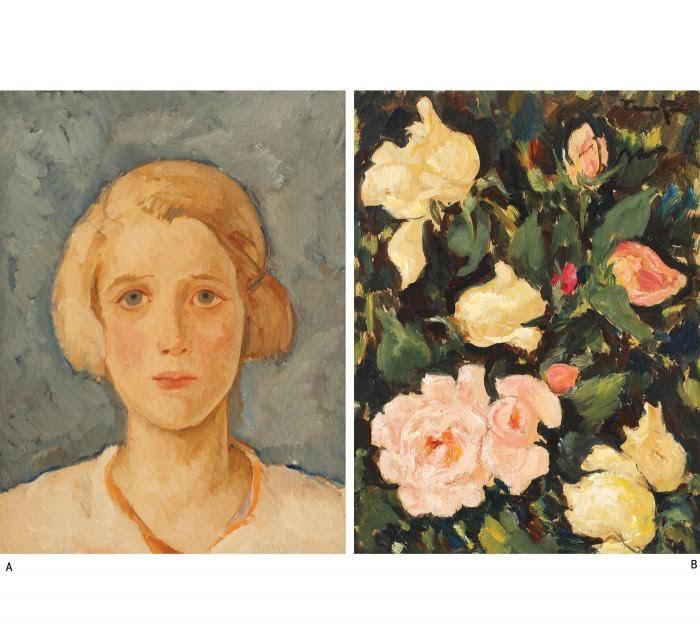 Ochi albastri, Gradina cu trandafiri, Nicolae Tonitza